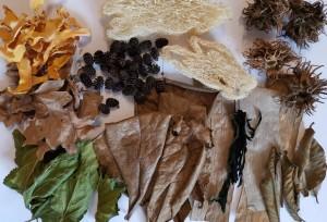 Mix přírodních produktů